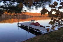 dock in fall